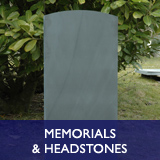 Memorials and Headstones - bespoke commemorative plaques