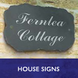 House Signs - standard pet memorials & plaques