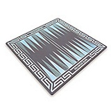 Slate Backgammon Board